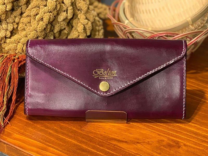 紫色皮夾能提升工作運