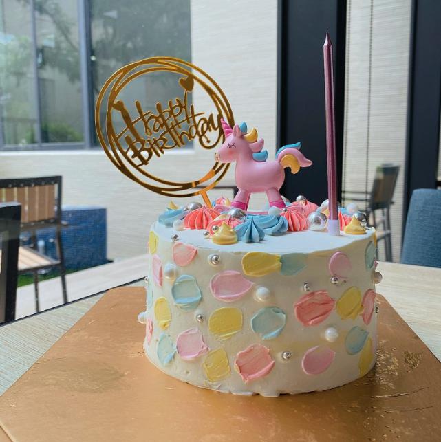 客製化童趣生日蛋糕