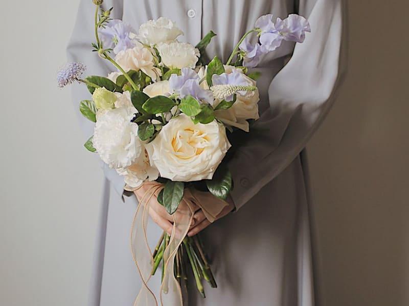 韓式捧花通常較小巧精緻