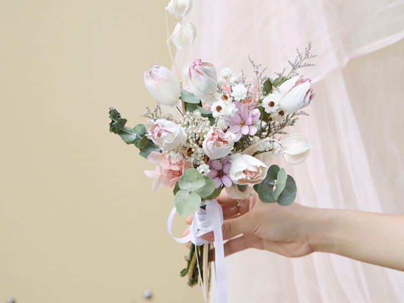 價格千元以下的新娘捧花
