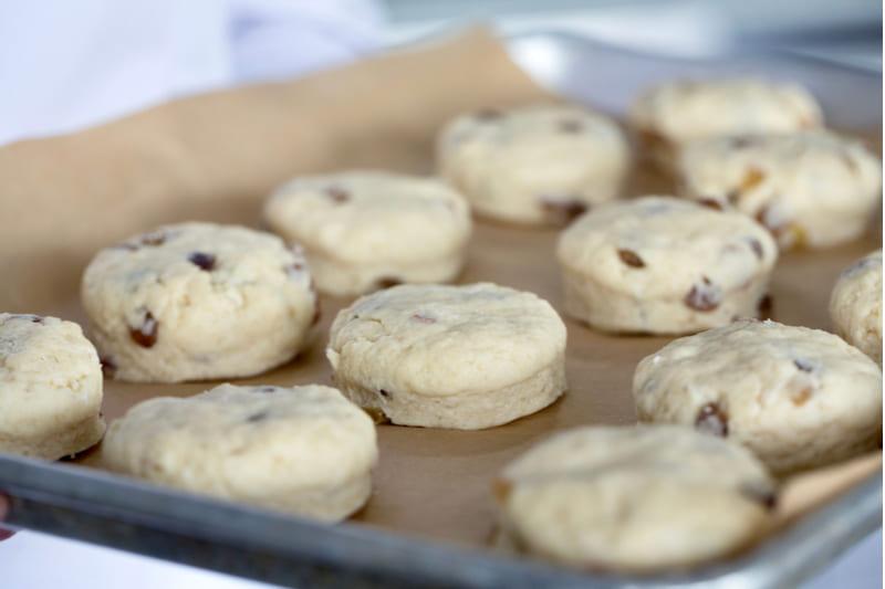 司康做法中麵團需二次發酵