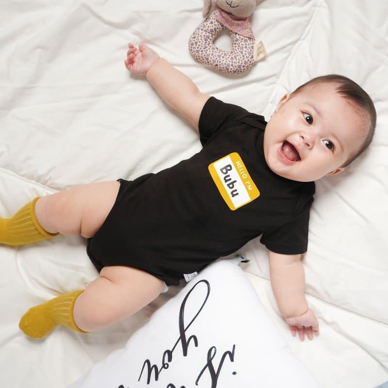 包屁衣有三個月到兩歲的童裝尺寸