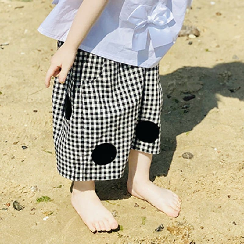 童裝褲子尺寸須依照身材挑選