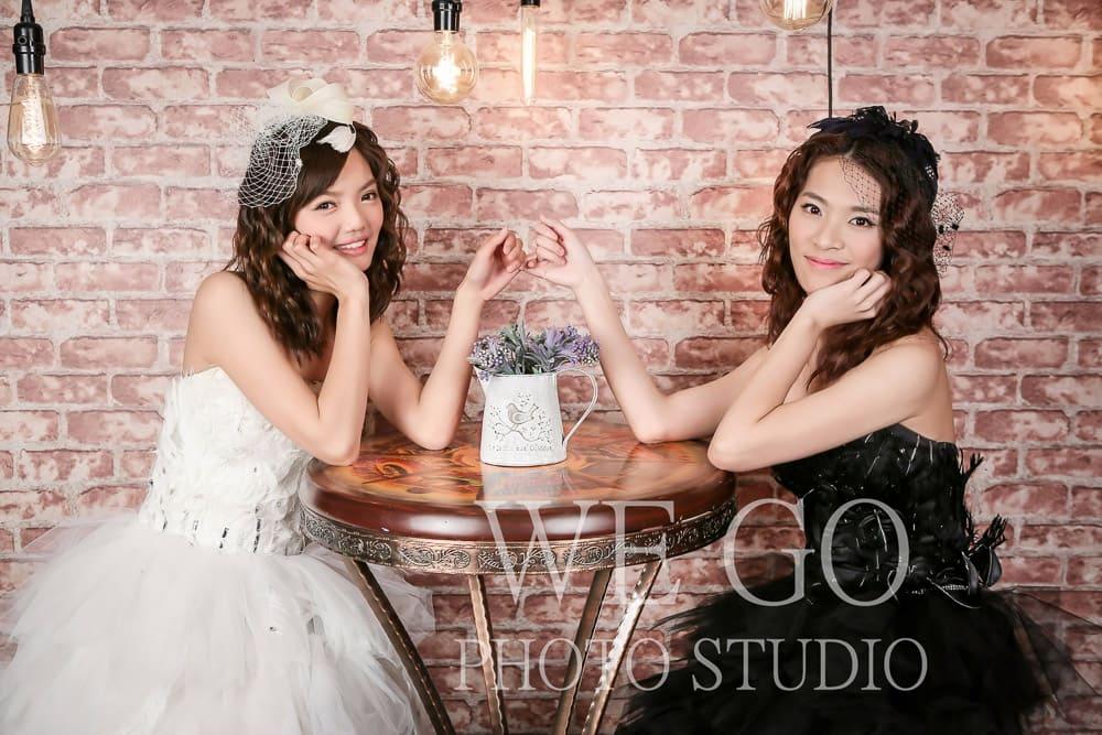 閨蜜婚紗攝影棚推薦 WEGO Photo Studio